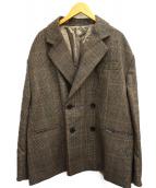 stein(シュタイン)の古着「OVERSIZED DOUBLE BREASTED JACK」|ブラウン