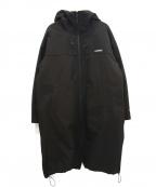 GERRY(ジェリー)の古着「3WAY撥水アノラックコート」|ブラック×カーキ