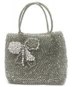 ANTEPRIMA(アンテプリマ)の古着「ワイヤーハンドバッグ」|グレー