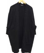 LAD MUSICIAN(ラッドミュージシャン)の古着「ロングカーディガン」|ブラック