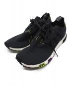 adidas(アディダス)の古着「ローカットスニーカー」 ブラック