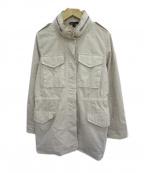 JAMES PERSE(ジェームスパース)の古着「コットンオーバーサイズフィールドジャケット」 アイボリー