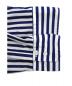 中古・古着 THOMAS MASON (トーマスメイソン) 2WAYシャツ ブルー サイズ:38 春物:5800円