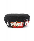 Bristol(ブリストル)の古着「FIRE FLAME WAIST BAG」|ブラック