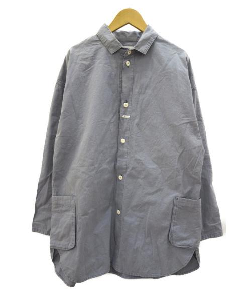 Porter Classic(ポータークラシック)Porter Classic (ポータークラシック) LOCAL BLUE SHIRT JACKET ブルー サイズ:Sの古着・服飾アイテム