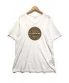 ()の古着「サークルシグネチャーロゴTシャツ」 ホワイト