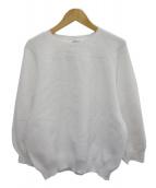 ASTRAET(アストラット)の古着「Hall Garment Sweater」|ホワイト