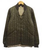PHIGVEL MAKERS(フィグベルマーカーズ)の古着「キルティングジャケット」|カーキ