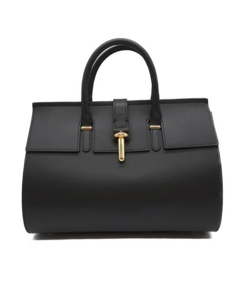 PARENTESI(パレンテージ)PARENTESI (パレンテージ) ハンドバッグ ブラックの古着・服飾アイテム