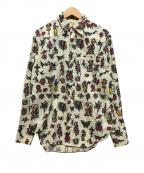 STYLE EYES(スタイルアイズ)の古着「ネイティブ柄ウエスタンシャツ」|アイボリー