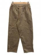 DANTON(ダントン)の古着「ストレッチコーデュロイイージーパンツ」|ブラウン