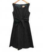 Sybilla(シビラ)の古着「ノースリーブワンピース」 ブラック