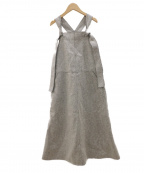 LE PHIL(ル フィル)の古着「カットオフメルトンワンピース」 グレー