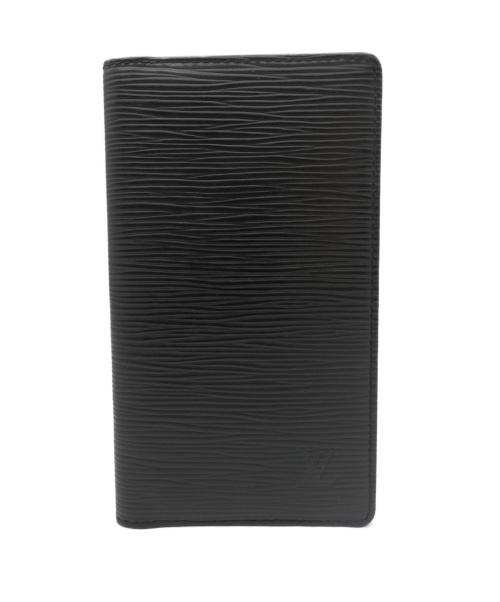 LOUIS VUITTON(ルイヴィトン)LOUIS VUITTON (ルイ ヴィトン) 手帳ケース ブラック R20522 CA1005の古着・服飾アイテム