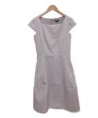 TOCCA(トッカ)の古着「LNNAドレス」|ラベンダー