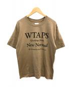 WTAPS(ダブルタップス)の古着「20SS NEW NORMAL TEE」|ベージュ