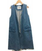 SLOBE IENA(スローブ イエナ)の古着「デニムベスト」|ブルー