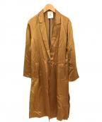 1er Arrondissement(プルミエ アロンディスモン)の古着「リライムトリコチンチェスターコート」|ブラウン
