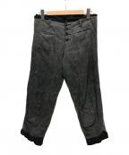 NEMETH(ネメス)の古着「デザインパンツ」|グレー