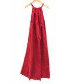 MARIHA(マリハ)の古着「キャミソールワンピース」|レッド