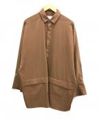 Luis(ルイス)の古着「BIGカフスシャツ」|ブラウン