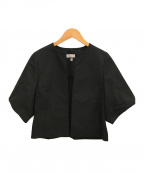 DRESSTERIOR(ドレステリア)の古着「ノーカラーハオリジャケット」|ブラック