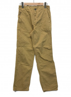 orSlow(オアスロウ)の古着「ダック地パンツ」|ブラウン