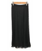 Liesse(リエス)の古着「21SSドットジャガードスカート」|ブラック