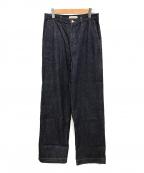AEWEN MATOPH(イウエン マトフ)の古着「デニムバギーパンツ」 インディゴ