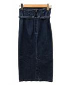 JAPAN DENIM(ジャパンデニム)の古着「PARIGOT CORSET SKIRT」|ブルー
