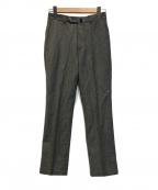 INCOTEX(インコテックス)の古着「センタープレスパンツ」|グレー