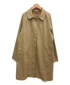 BURBERRY()の古着「ステンカラーコート」|ベージュ