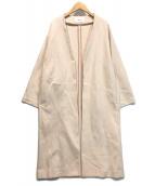 ()の古着「ダンボールニットコート」|ベージュ