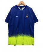 F.C.R.B.()の古着「SPLASH S/S TOP」 ブルー