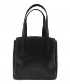 HIROFU(ヒロフ)の古着「レザーハンドバッグ」|ブラック