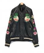 DOLCE & GABBANA(ドルチェ&ガッバーナ)の古着「刺繍ジャケット」|ブラック