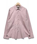 ()の古着「ドレスシャツ」 ピンク