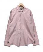 BOSS HUGO BOSS(ボス ヒューゴボス)の古着「ドレスシャツ」|ピンク