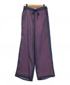 AKTE(アクテ)の古着「ドッキングライクシアーパンツ」|ピンク×ブルー