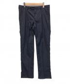 lideal(リディアル)の古着「PLANET ANKLE タックスラックスパンツ」|ネイビー