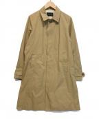 LOUNGE LIZARD(ラウンジリザード)の古着「ステンカラーコート」|ブラウン