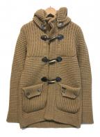 Bark(バーク)の古着「ニットジャケット」|ブラウン