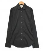 Acne studios(アクネストゥディオス)の古着「レギュラーシャツ」|ブラック