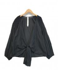 merlette (マーレット) ラップブラウス ブラック サイズ:S