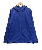 MAMMUT(マムート)の古着「グラナイトソーフーデッドジャケット/GRANITE SO H」 ブルー