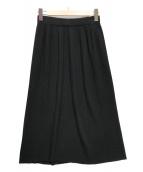 ()の古着「スポンディッシュコットンニットスカート」|ブラック