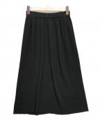 AMACA(アマカ)の古着「スポンディッシュコットンニットスカート」 ブラック