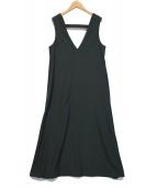()の古着「アンブレラジャンパースカート」|ブラック