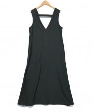 fig LONDON (フィグロンドン) アンブレラジャンパースカート ブラック サイズ:F