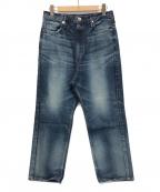 upper hights(アッパーハイツ)の古着「デニムパンツ」|ブルー